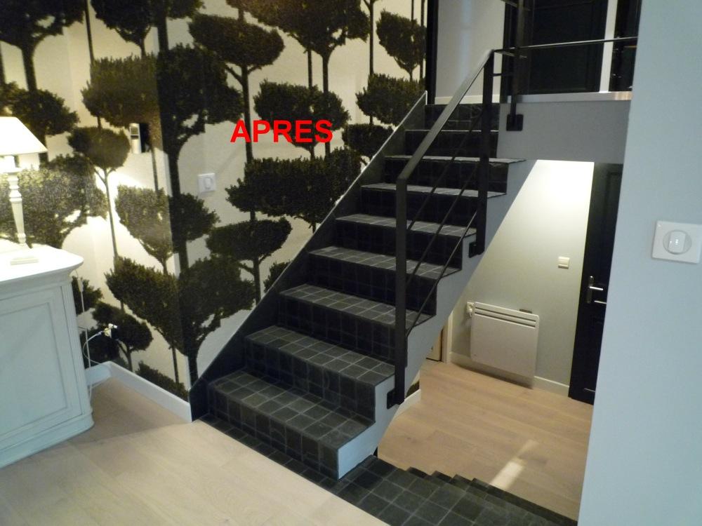 relooking d 39 escalier d gagement mi figue mi raisin. Black Bedroom Furniture Sets. Home Design Ideas